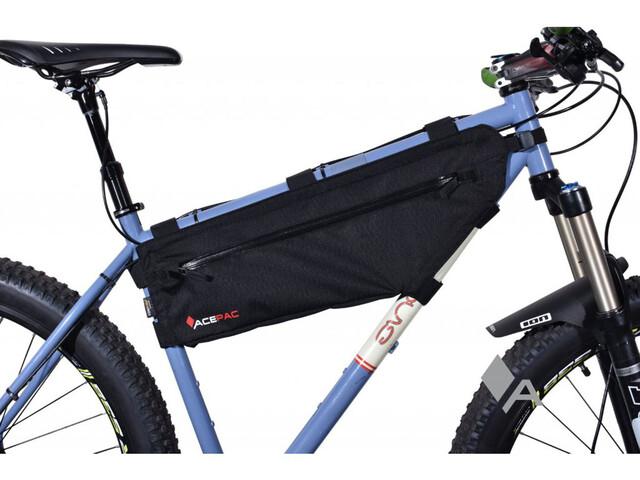 Acepac Zip Frame Bag Fietstas L zwart I Online op bikester.be